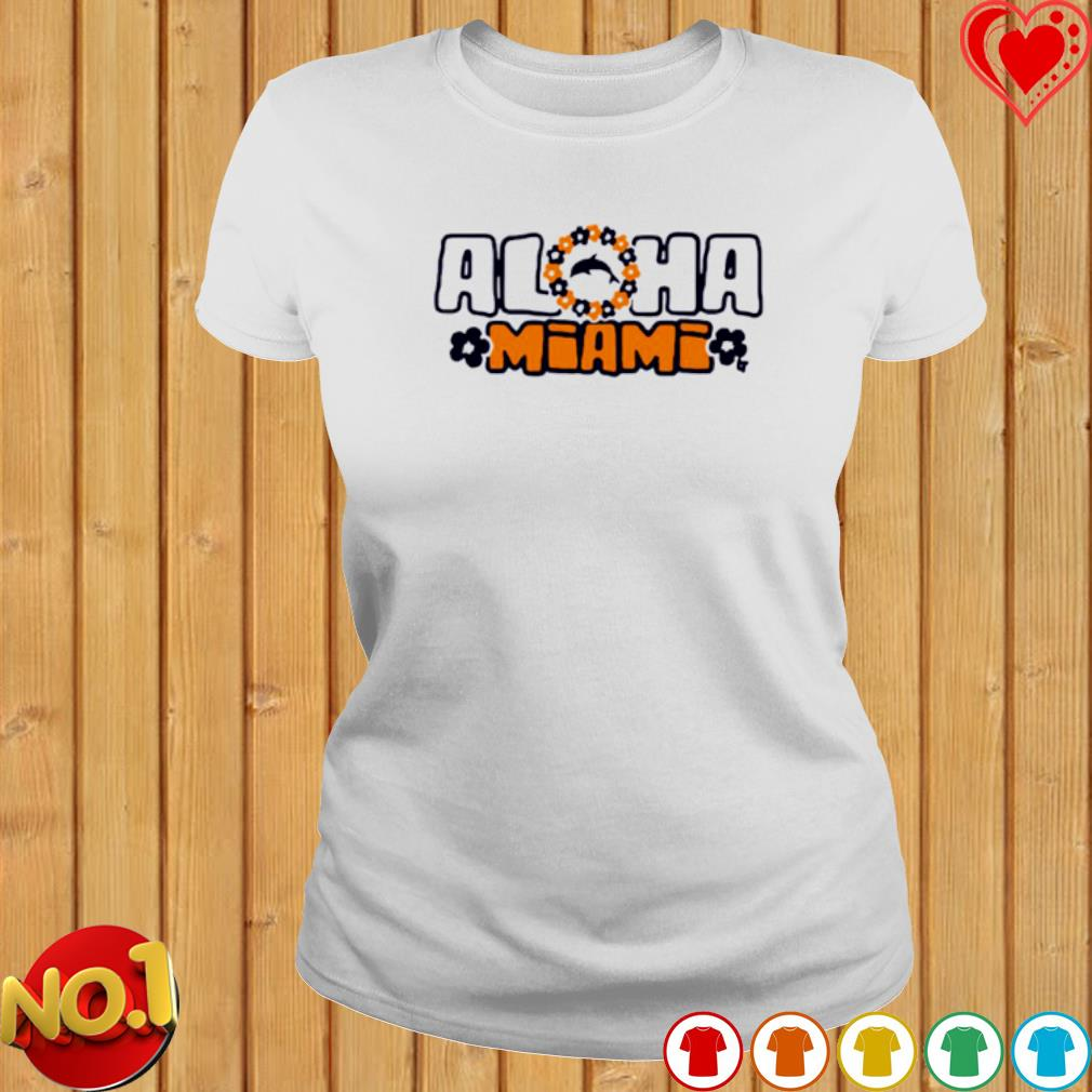 Aloha Miami s ladies-tee