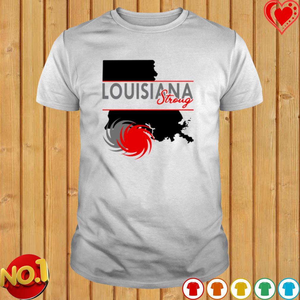 Hurricane Delta Louisiana strong shirt