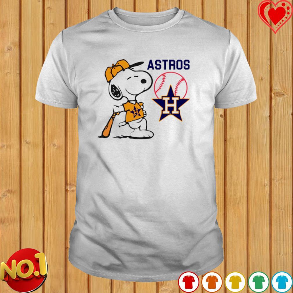 Snoopy Houston Astros shirt
