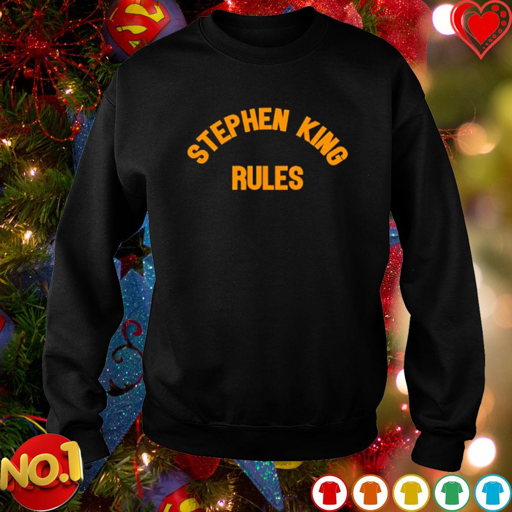 Stephen King Rules s sweater