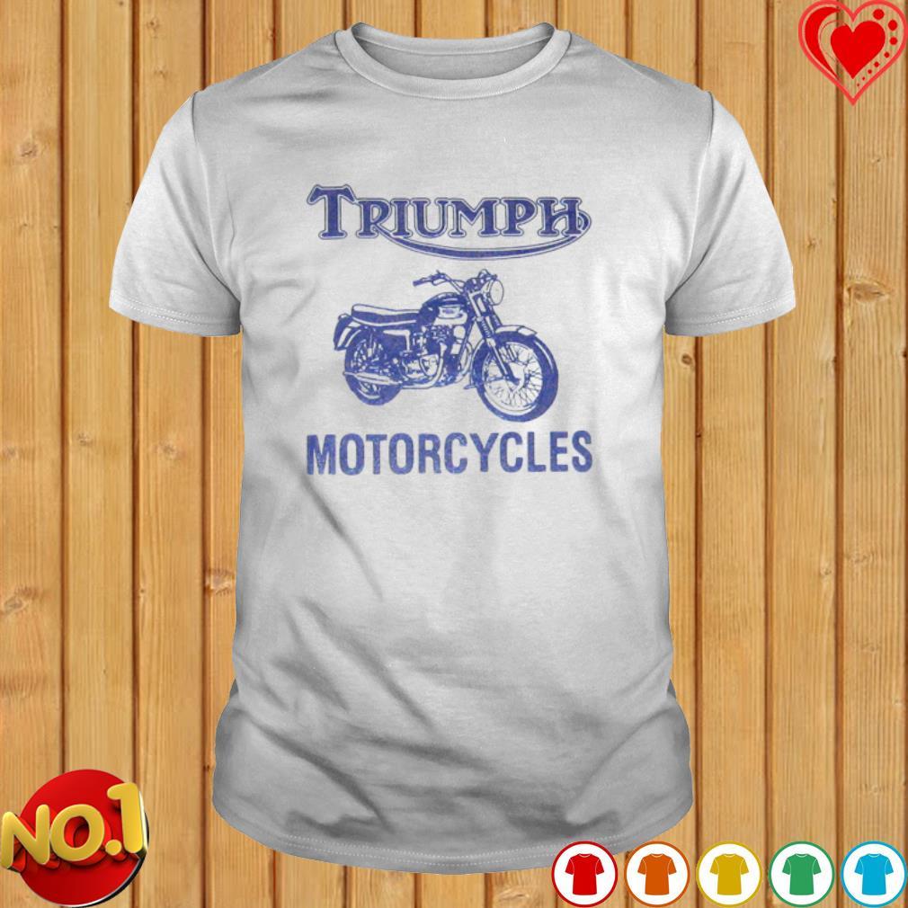 Triumph motorcycles shirt