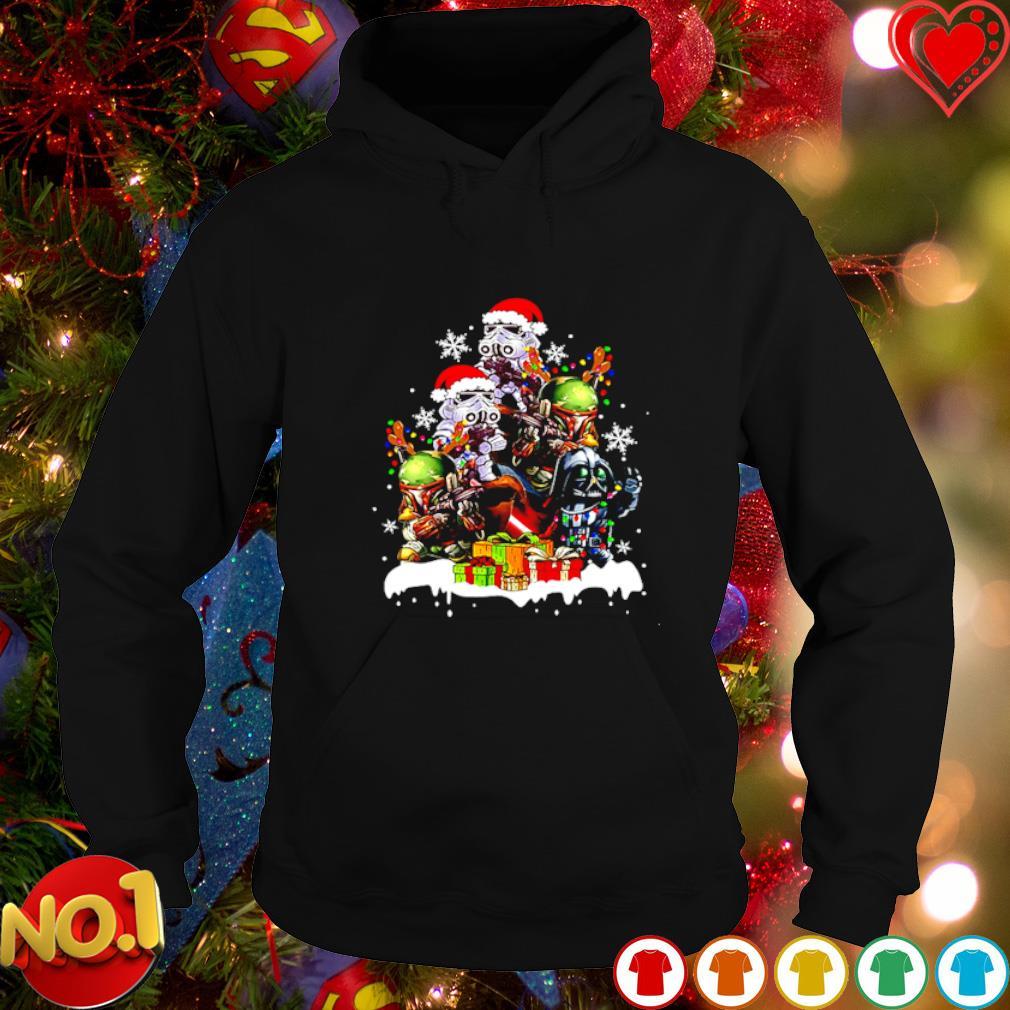 Baby Darth Vader Stormtrooper Boba Fett gift Christmas s hoodie