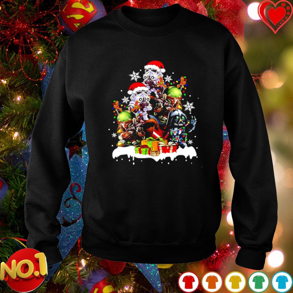 Baby Darth Vader Stormtrooper Boba Fett gift Christmas s sweater