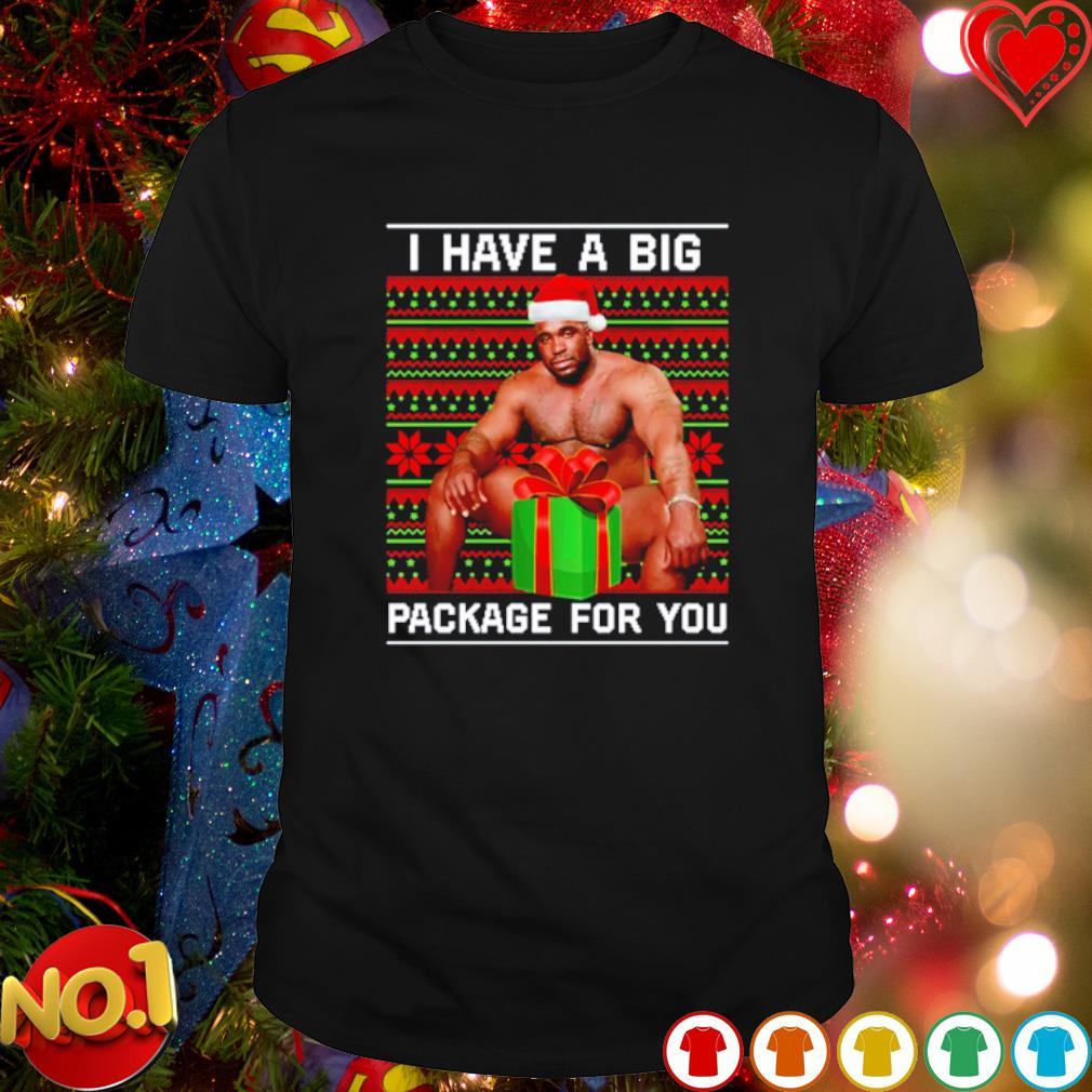 Barry Wood I have a big package for you Christmas gift shirt