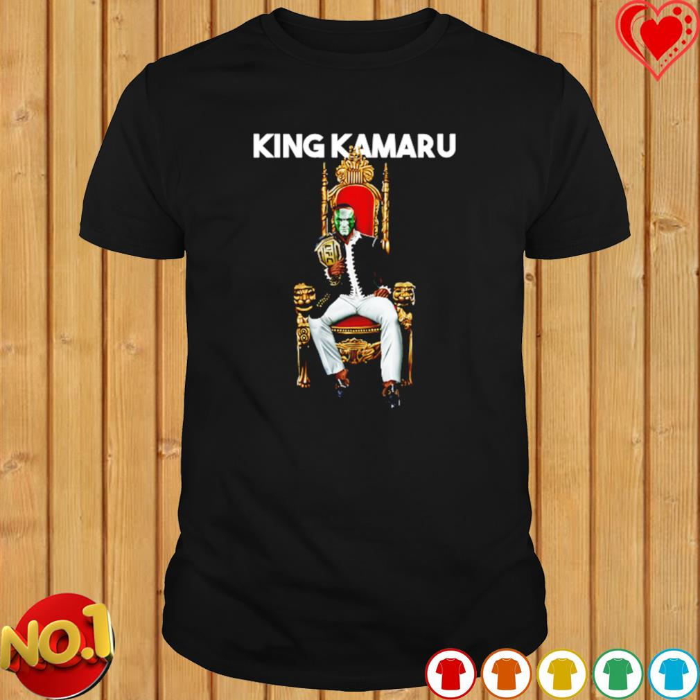 King Kamaru Usman On Throne Mma shirt