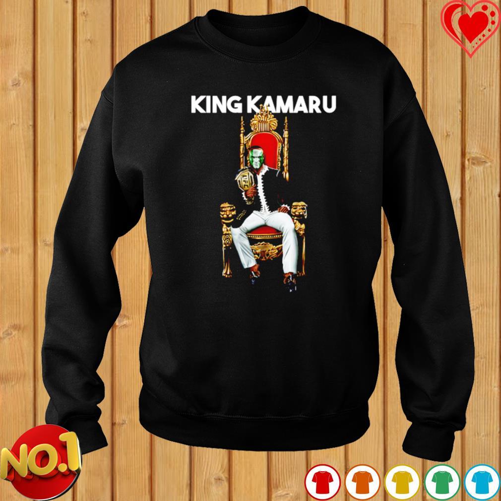 King Kamaru Usman On Throne Mma s sweater