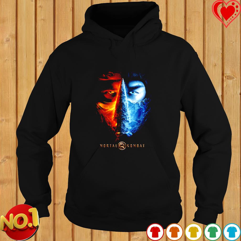 Mortal Kombat 2021 Sub Zero And Scorpion s hoodie
