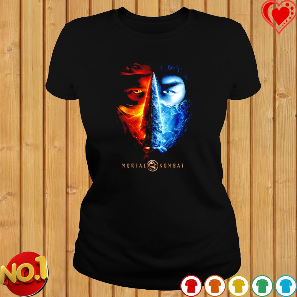 Mortal Kombat 2021 Sub Zero And Scorpion s ladies-tee