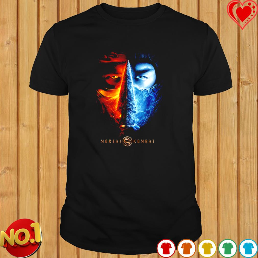 Mortal Kombat 2021 Sub Zero And Scorpion shirt