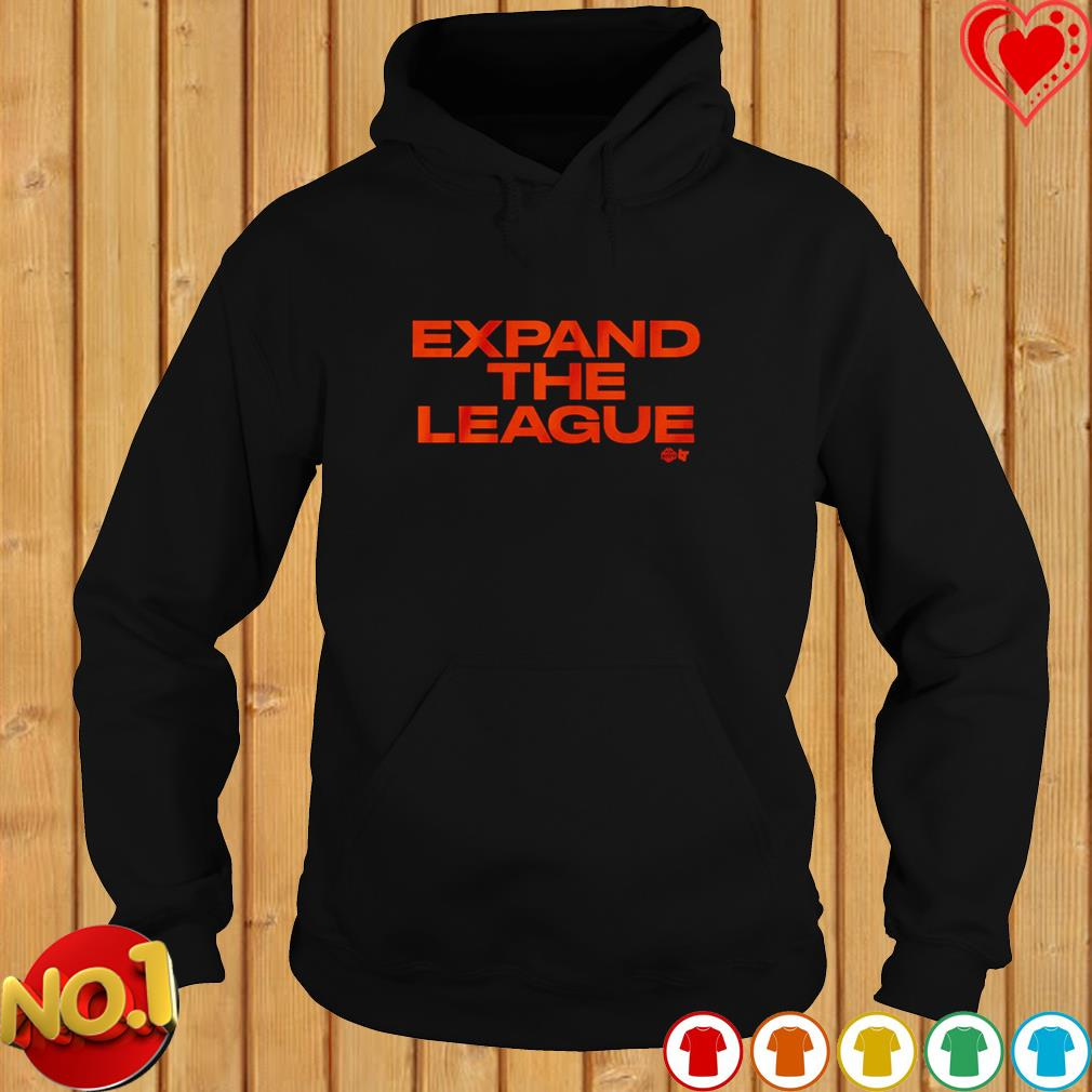 Expand the league s hoodie
