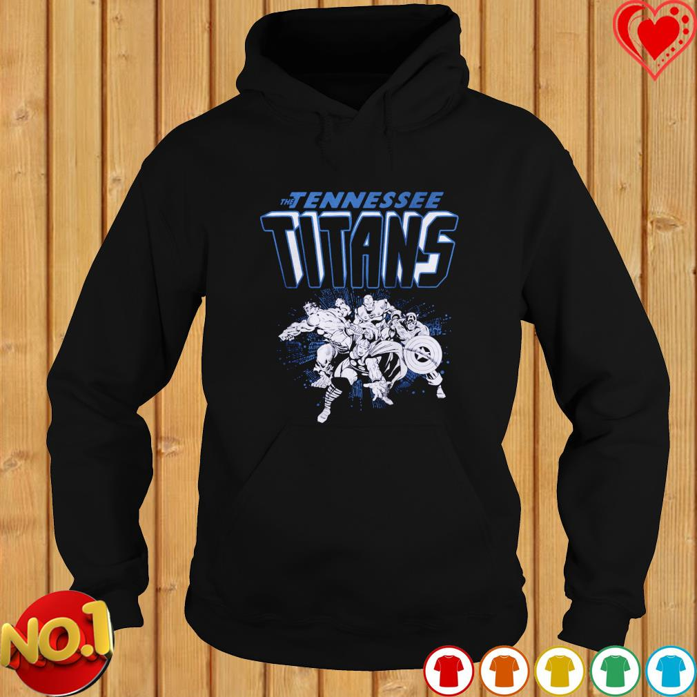 The Tennessee Titans Avengers team NFL s hoodie