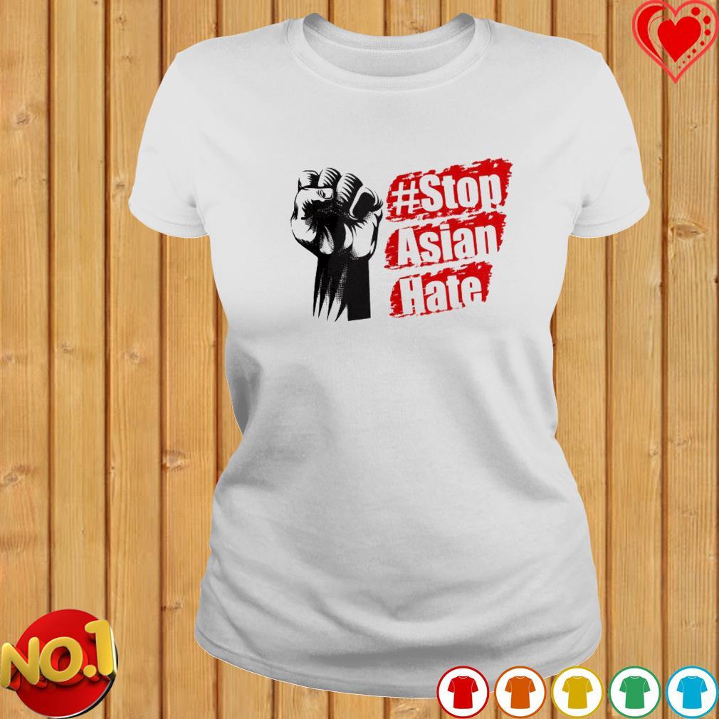 #Stop Asian hate s ladies-tee